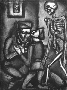 "Georges Rouault, ""This Will Be the Last Time, Father!"" 1927."