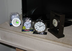 The rejected clocks.