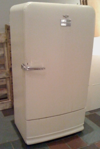 The venerable Fusz Chapel Frigidaire refrigerator.