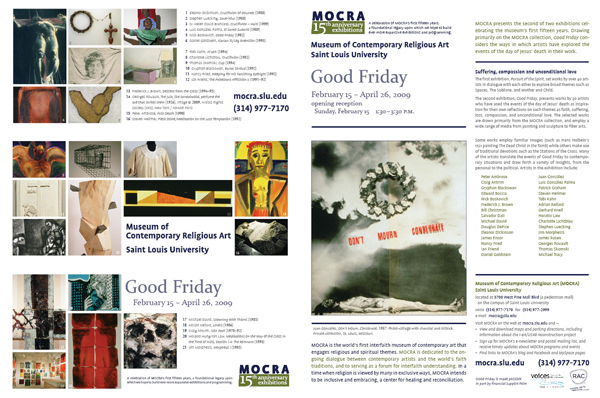 Good Friday 2009 exhibition invitation