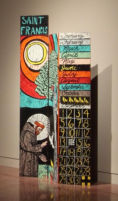 Adrian Kellard, St. Francis screen, 1985.