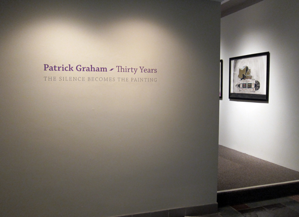 Patrick Graham: Thirty Years, at the Museum of Contemporary Religious Art (MOCRA), Saint Louis University, September 23 - December 16, 2012.