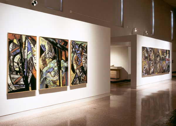 """Edward Boccia: Eye of the Painter"" at MOCRA in 1996."